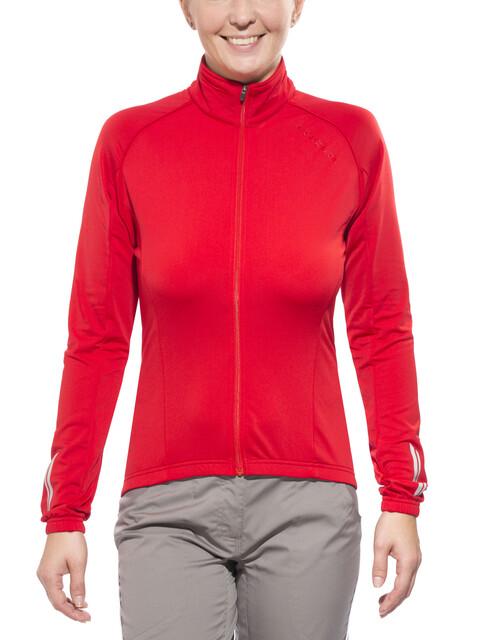 Endura Roubaix Fietsshirt lange mouwen Dames rood